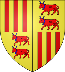 Bibliographie Gaston Febus - Blason de Foix Béarn