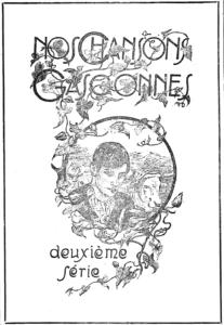 Couverture de Nos Chansons gasconnes de l'amassaire H. Dambielle