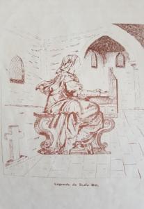 Escaladieu - Légende de Scala Dei, dessin d'Ivan Douglas Frossard
