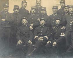 Les territoriaux - une escouade du 135e RIT, le 10 septembre 1914