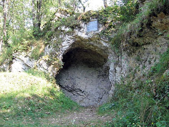 Aurignac - la grotte préhistorique