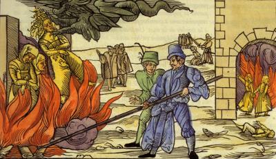 L'Inquisition contre les derniers Cathares et sorcellerie