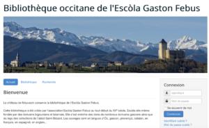 La Bibliothèque occitane de l'Escòla Gaston Febus sur le net