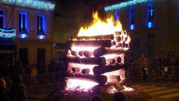 La tòrela de Capbreton à Noël