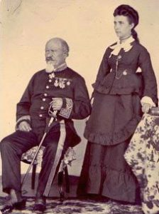Jean Laborde, Consul de France et son épouse