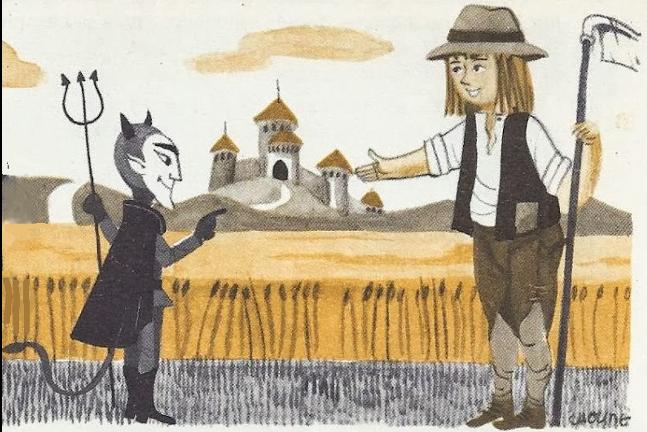 Le paysan et le diable