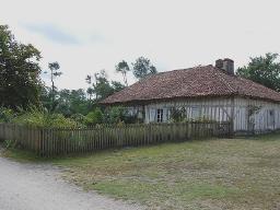 Maison de l'Ecomusée de Marquèze (40) et lire Manciet