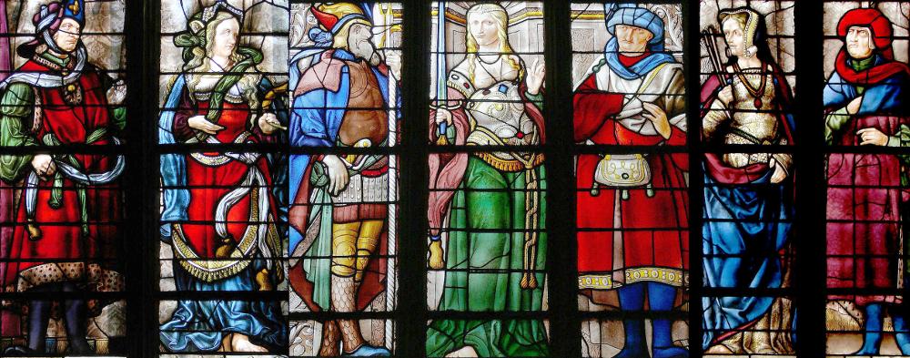Trois sibylles de la cathédrale Sainte-Marie d'Auch