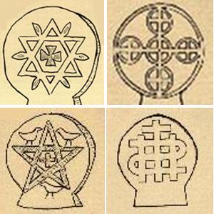 Symbolisme des stèles discoïdales