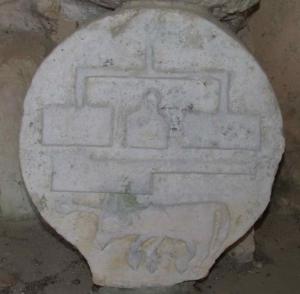 Stèle d'un boucher à Doazit