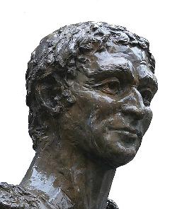 Buste d'Ausone, rue Ausone à Bordeaux