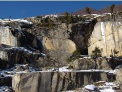 Carrières de marbre dans le Haut-Couserans