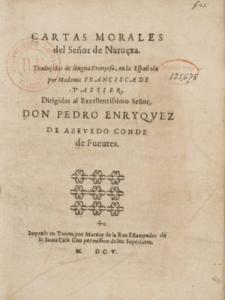 Cartas morales de Nevèze traduit en espagnol