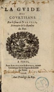 Le guide des courtisans de Nervèze