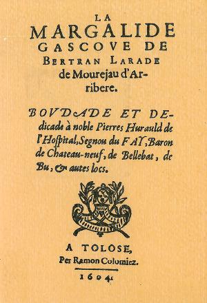 Chant Royal - B Larade - la Margalide Gascoue (1604)