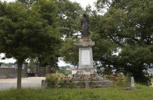 Le monument aux morts de la gerre de 14-18 de Betchat
