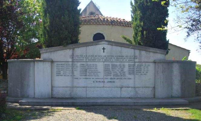 Guerre 1939 - 1945 - Mémorial de Marsoulas