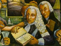 J-B Sénac (détail de la fresque de Diego Rivera à l'Institut de Cardiologie de Mexico - 1946)