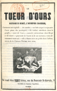L'intrépide Bergé, tueur d'ours