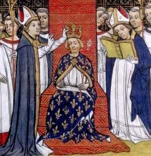 Couronnement de Philippe III le Hardi