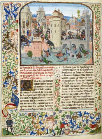 Chroniques sire JEHAN FROISSART - Le massacre des Jacques à Meaux, en 1358 BnF – département des manuscrits