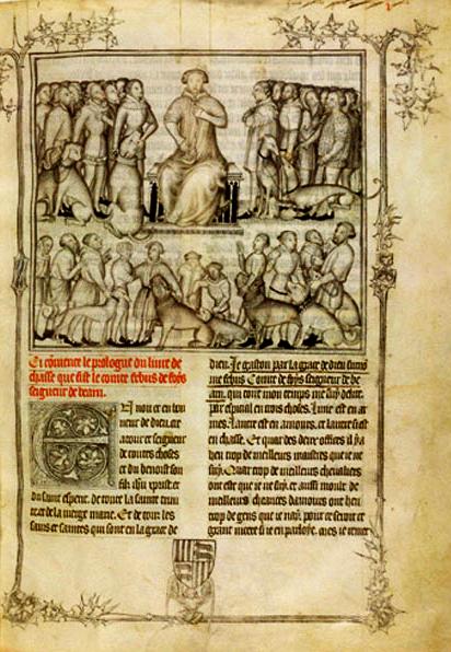 Febus prologue du Livre de la Chasse