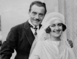 Mariage de Max Linder et Ninette Peters