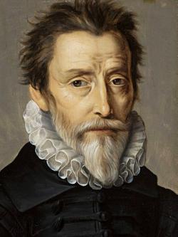 Nicolas de Villeroy, objet des railleries de d'Épernon portrait par Pierre Dumonstier, musée national de Varsovie, vers 1590.