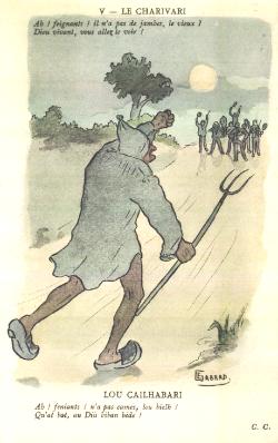 Lo calhaouari par Ernest Gabard (1879 - 1957)