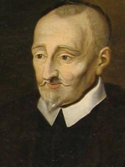 Pierre de Ronsard chantre de la langue française (portrait posthume ca. 1620)
