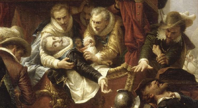 Le duc d'Epernon est présent lors de l'assassinat d' Henri IV