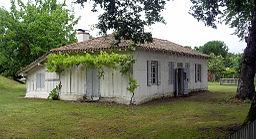 Maison de Félix Arnaudin à Labouheyre (Landes, France)
