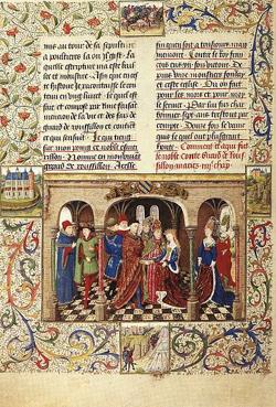 Girart de Roussillon le conte qui rime en gascon