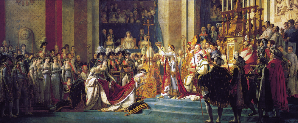 Le sacre de Napoléon 1er