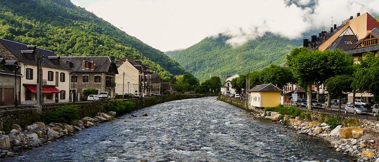 La Garonne à Bosost (Val d'Aran)