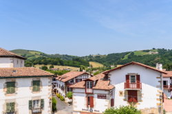 Le village de Sare (64)