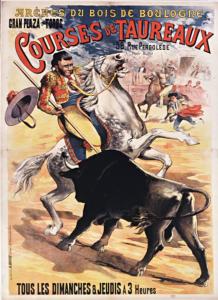 Affiche de courses au Bois de Boulogne