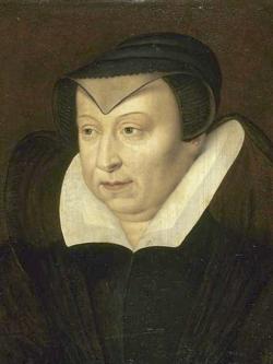 Catherine de Médicis vers 1585