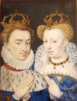 Henri III de Navarre et Marguerite de Valois