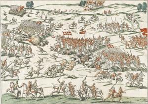 La bataille de Coutras