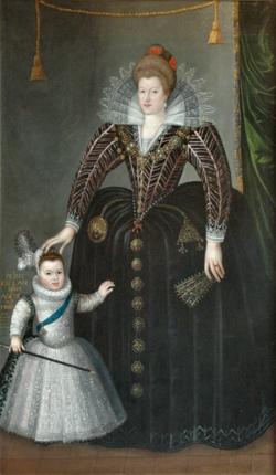 Maris de Médicis et Louis XIII en 1603