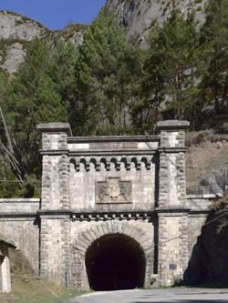 Tunnel ferroviaire du Somport