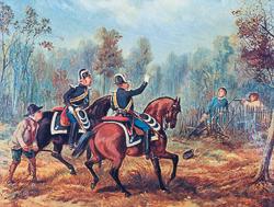 Gendarmes (vers 1850)