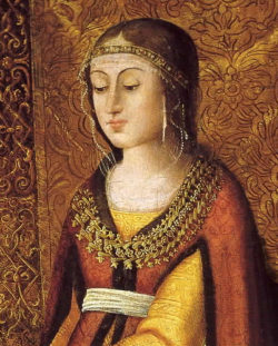 Catherine de Navarre, (1468-1517) reine de Navarre de 1483 à 1517