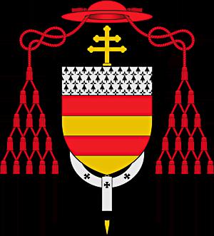 Les armes de François de Clermont-Lodève