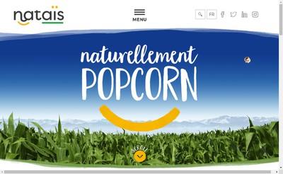 Nataïs Premier producteur européen de popcorn