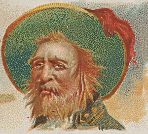 Saint-Domingue, eldorado des Gascons - Michel le Basque - image d'une collection de Allen & Ginter Cigarettes (1888)