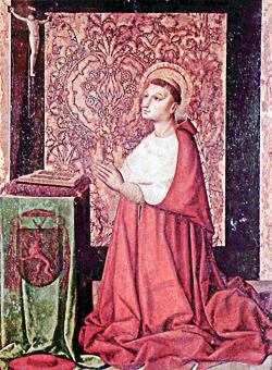 Marie la Gasque vit un miracle sur la tombe de Pierre de Luxembourg