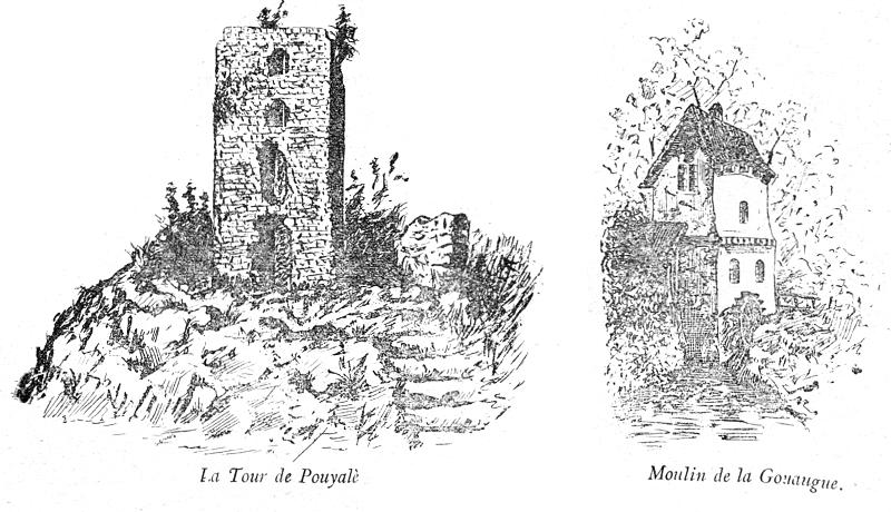 C. Daugé - La Tour de Pouyalè - Escole Gastou-Fébus