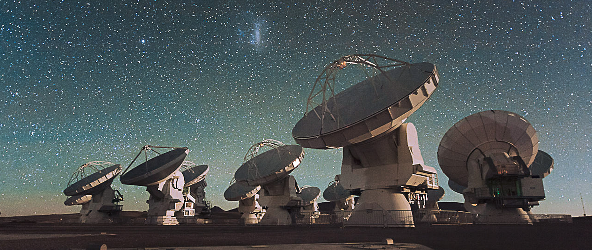 ALMA (Atacama Large Millimeter/ submillimeter Array) au Chili